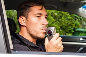 drunk driver breathalyzer