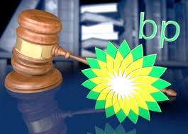 BP logo with gavel