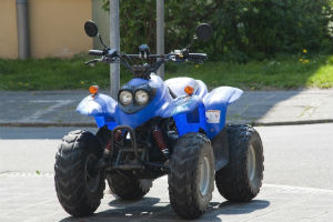 ATV on road