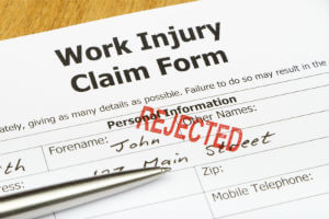 denied claim for workers' compensation