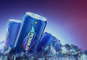 cans of energy drink
