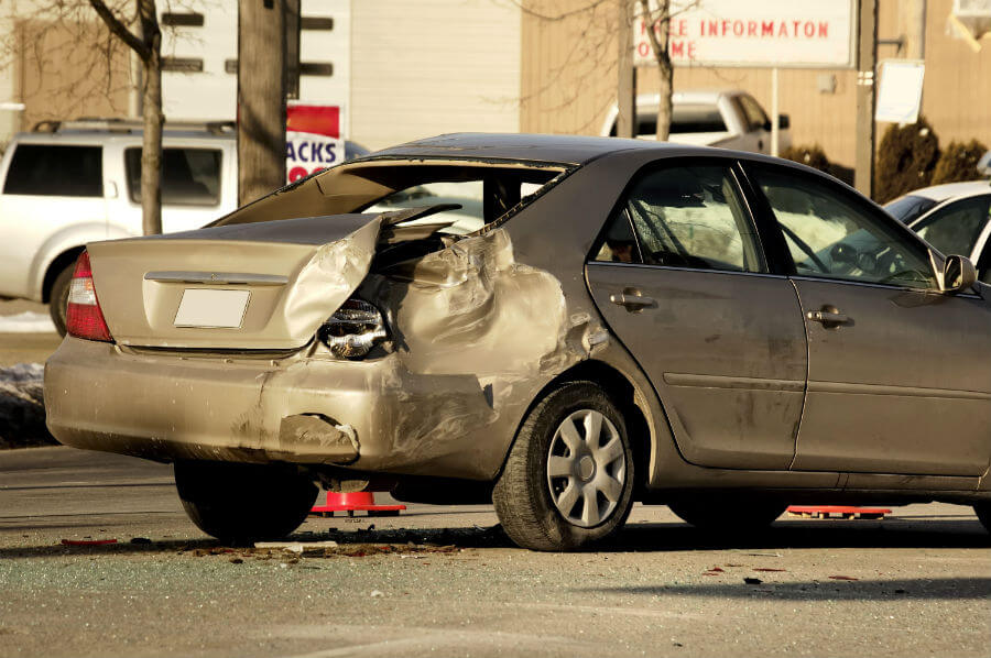 Rear End Accidents Determining Fault After Being Rear Ended