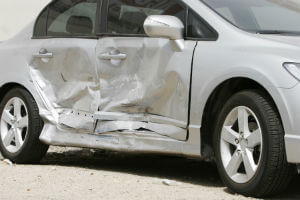 damage from sideswipe collision