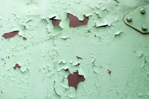 signs of lead paint exposure