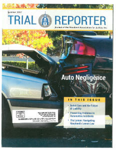 Trial Reporter magazine cover