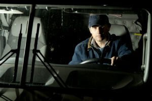 trucker violating hours of service rules